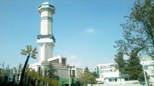 Nezam Mafi Mosque in Ayatollah Kashani District