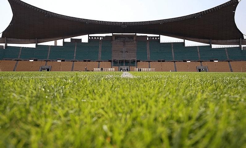 Takhti stadium in Afsaryeh district