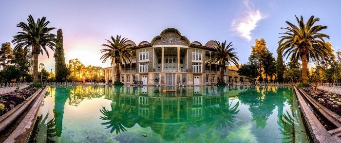 Luxury districts in Shiraz